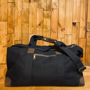 Bare Hands Society Waxed Canvas Holdall
