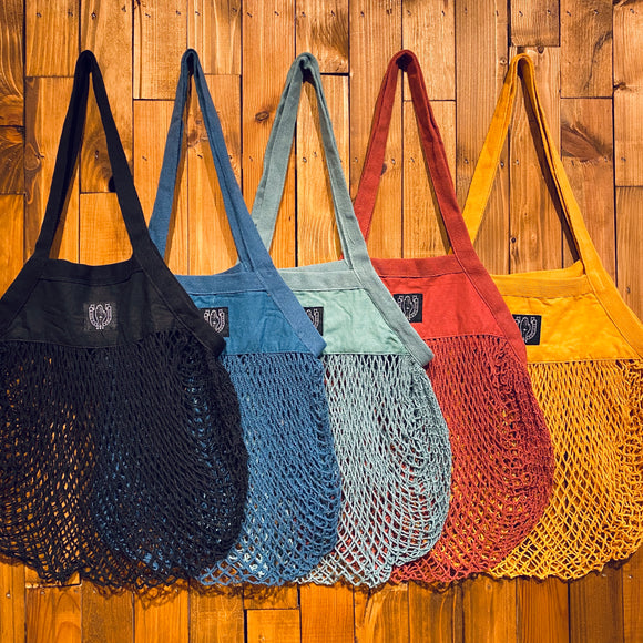 BHS Organic Cotton Mesh Grocery Bag