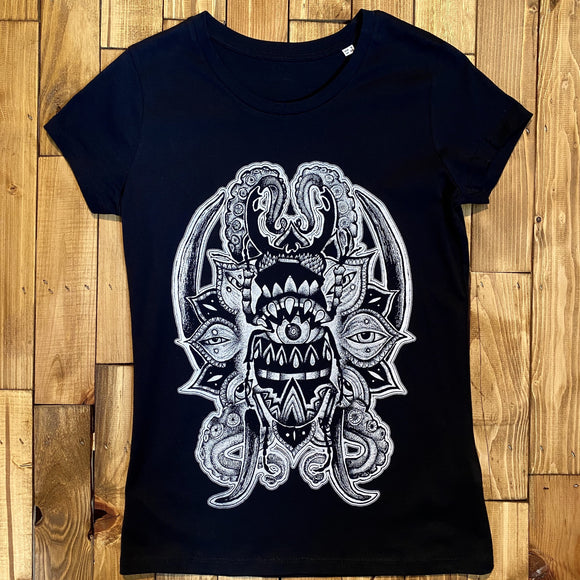 BARE HANDS SOCIETY OCTOPUS WOMEN T-SHIRT
