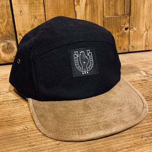 BHS Faux Suede Five Panel Cap