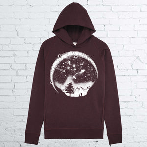 BHS STARRY SKY UNISEX GRAPE HOODIE