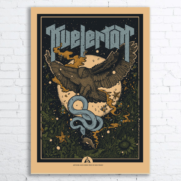 KVELERTAK Limited Edition Screen Printed Poster 2018