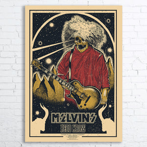 MELVINS Limited Edition Screen Printed Poster 2017