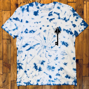 BHS THE KEEPER ORGANIC COTTON TIE AND DYE UNISEX T-SHIRT