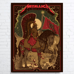 METALLICA  Limited Edition Poster WARSAW 2019