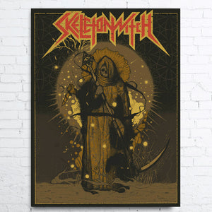 SKELETONWITCH Limited Edition Poster USA 2019