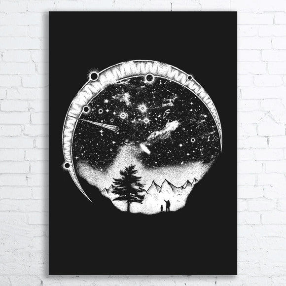 STARRY SKY Screen Printed Poster