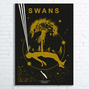 SWANS Limited Edition Screen Printed Poster 2017