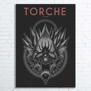 TORCHE Limited Edition Screen Printed Poster 2015