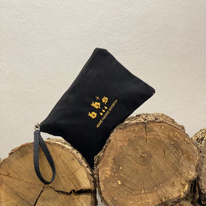 Bare Hands Society Drops Canvas Wristlet Pouch
