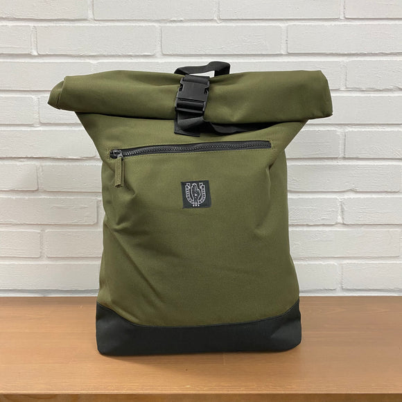 BHS Roll-top Backpack (3 colors)