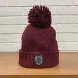 BHS Knit Ribbed Pom Pom BEANIE (8 colors)