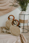 MALIKA MEDIUM ROUND WEAVE BAG (NATURAL)
