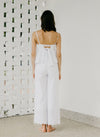 THE CLIMB TIE-BACK EYELET TOP (WHITE)