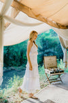 DREAM CATCHER MAXI DRESS (WHITE)