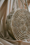 LIYANA LARGE ROUND TOTE BAG (NATURAL)