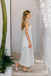 SERENDIPITY MAXI DRESS (WHITE)