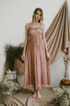 SERAPHINA CAMI MAXI DRESS (CANYON ROSE)