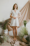 REVERIE EYELET DRESS (WHITE)