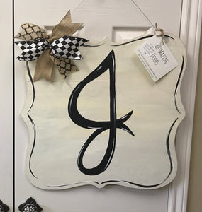 Simple Initial - Year Round Welcome!