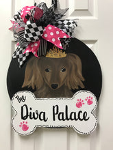 Custom Pet Door Hangers