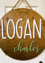 Laser Cut Name Rounds - email to order
