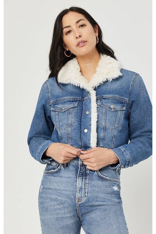 Melody Mid Blue Denim Jacket