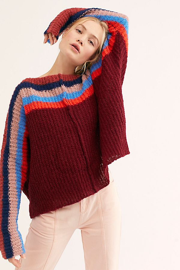 Load image into Gallery viewer, See The Rainbow Sweater - HEMLINE