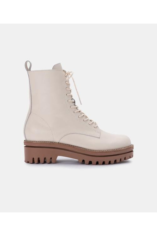 Pyrm Boots in Ivory