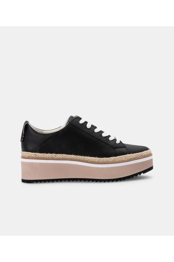 Tinley Sneakers in Black Leather