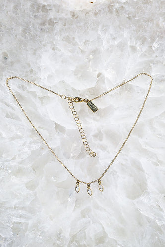 Fling Three Marquis Necklace