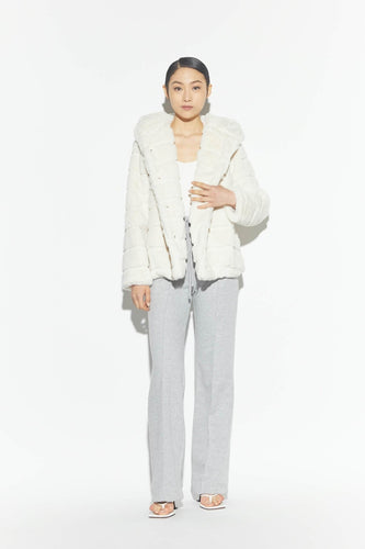 Goldie Jacket in Ivory