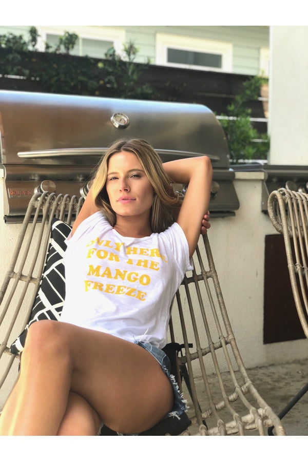 Hemline Exclusive Only Here for the Mango Freeze Tee