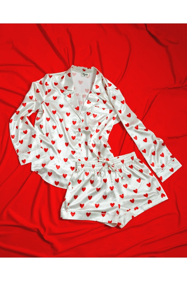 Queen of Hearts Pj Set
