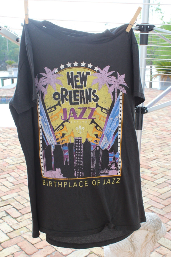 Load image into Gallery viewer, PRE-ORDER Hemline Exclusive Thomas Jazz Fest Tee