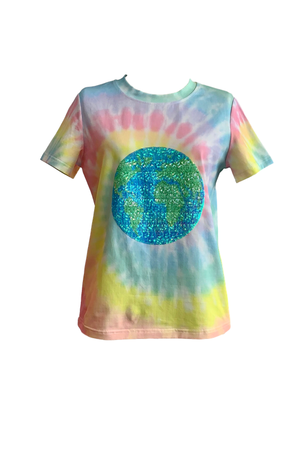 Load image into Gallery viewer, Hemline Exclusive Globe Tee