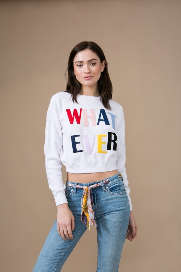 Leena Whatever Cropped Sweater