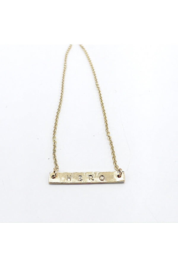 Hemline Exclusive Hero Necklace