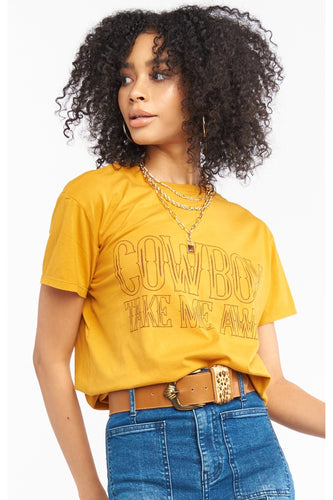 Cowboy Take Me Away Graphic Tee