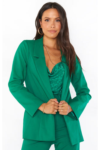 Major Blazer in Green
