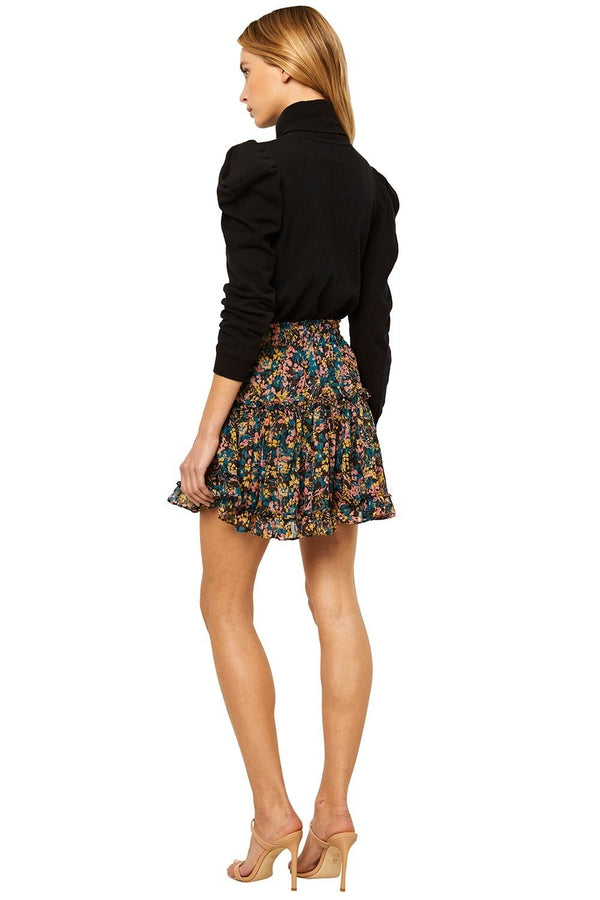 Marion Skirt in Abstract Floral