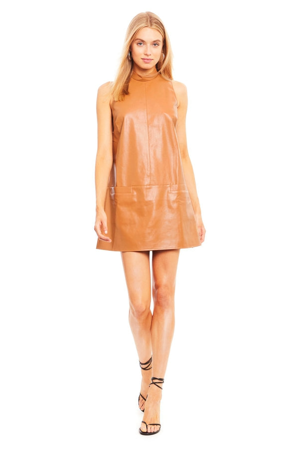 Mayer Dress in Camel