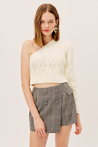Quinn One Shoulder Sweater