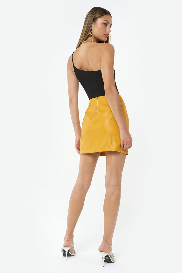 Carson Skirt in Yellow