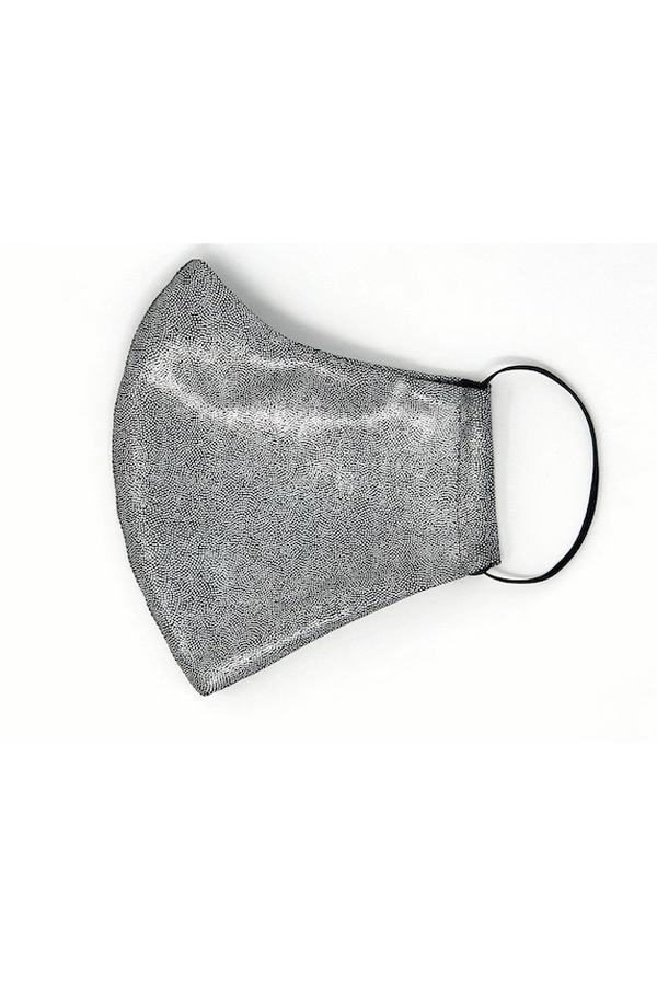 Heroine Sport Mask in Brushed Platinum