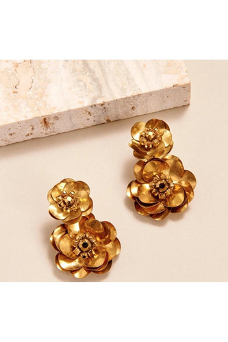 Floral Stella Drop Earring