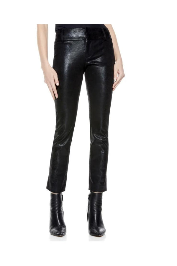 Stacey Vegan Leather Ankle Pant