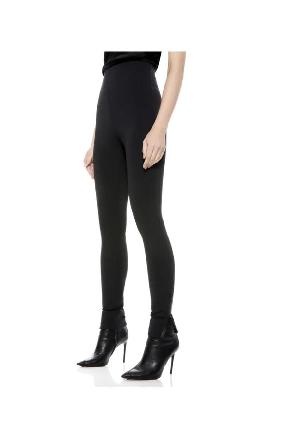Maddox Black Zip Legging