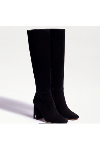 Clarem Knee High Boots in Black