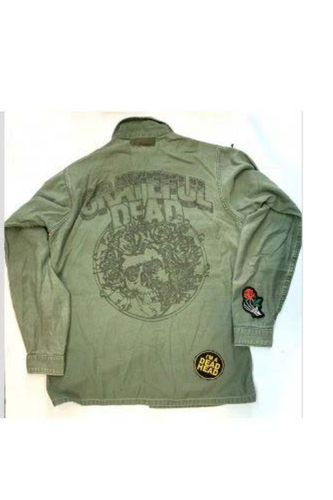 Grateful Dead Army Green Jacket
